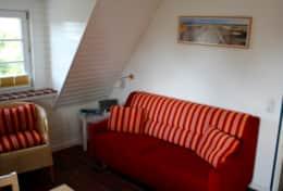 Sofa im Achterdeck Steuerbord