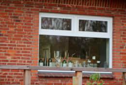 Küchenfenster zum Garten