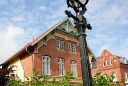 Seitenansicht vom Holmertorplatz