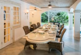 Exclusive Private Villas - Sandalwood House (BR126) - Dining Table