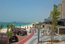 The neighborhood - walk to JBR Beach