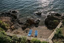 Villa Chara | Ammouliani | Private beach