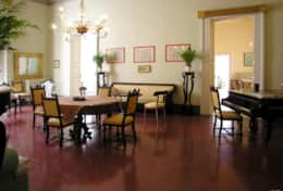 Palazzo Settecento - large dining-sitting room - Lecce - Salento