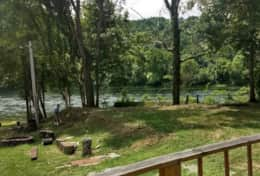 Riverview from your private deck Side A