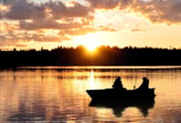 K61 Harper Cottage - SWESCOT have boats & canoe that guests can borrow to fish or explore the lake