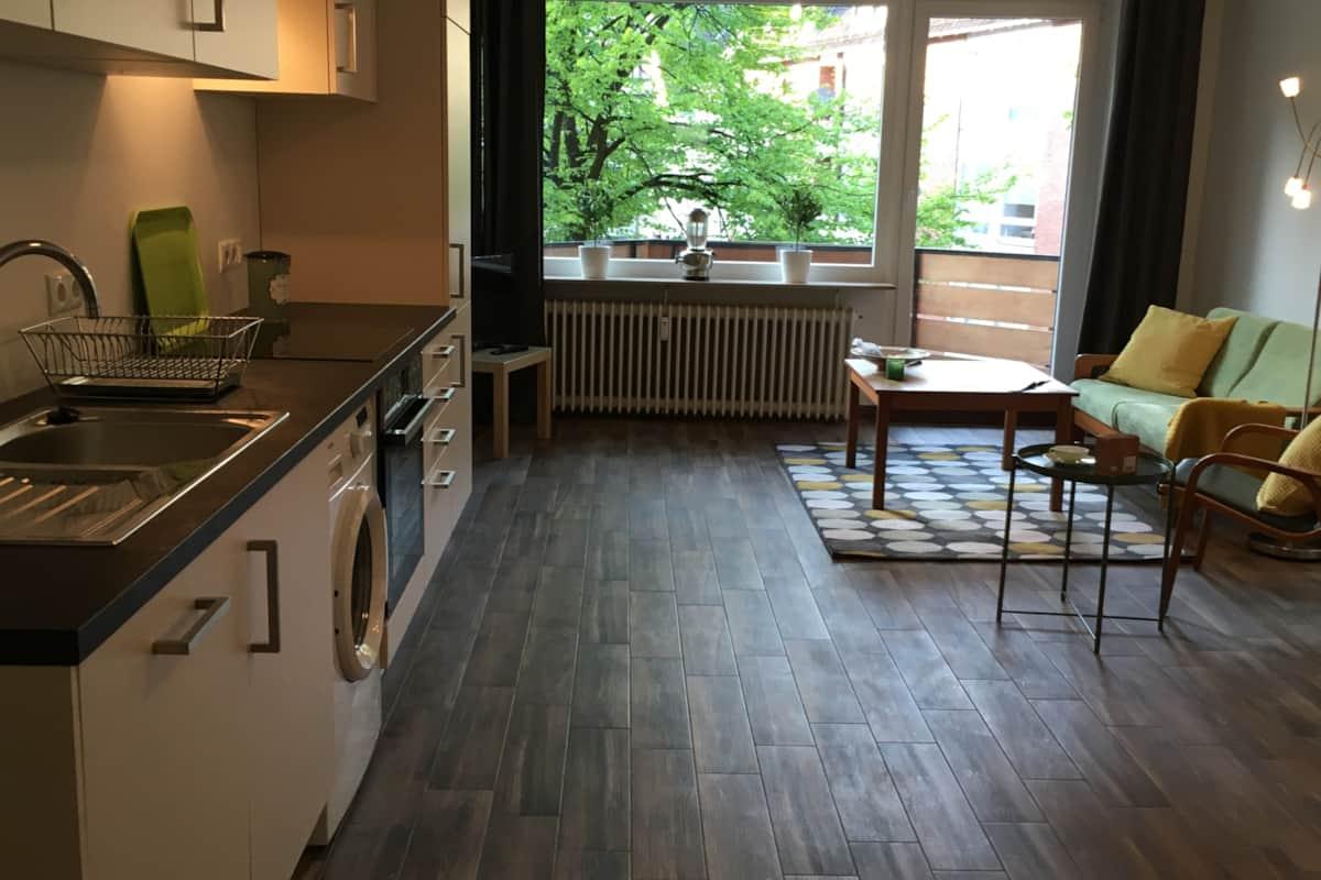Business Apartments 23-4-1 oder 23-4-2 An der Weser - Ferienwohnung ...