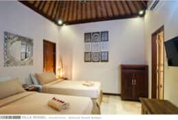 Villa Sensel - Ground Floor - Bedroom Guests by night - 1A