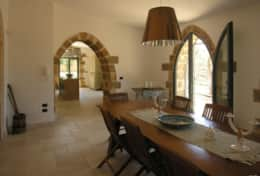 Masseria Ugento - dining room with direct access to the garden - Ugento - Salento
