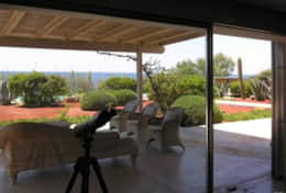 Summer House - view from the patio - Marina di S.Gregorio-Salento