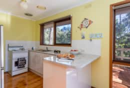 Compact Kitchen Yia Yia's House  Good House Holiday Rentals