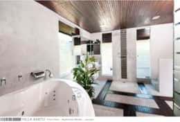 Villa Sabtu - First Floor - Bathroom Master - Jacuzzi