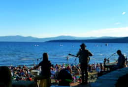Free concerts in Kings Beach, just 30 minutes away
