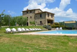 Villa Badia with pool