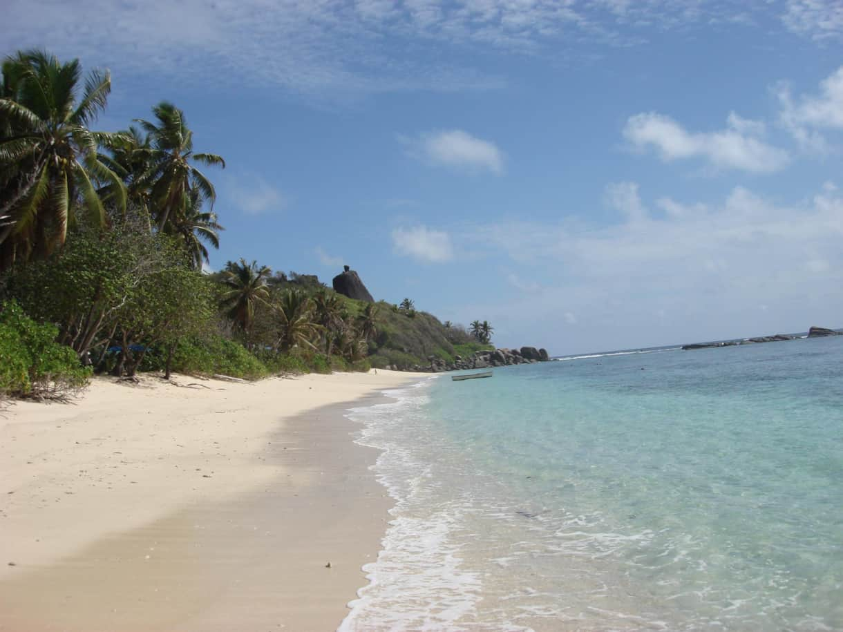 Another view of Anse Forbans beach