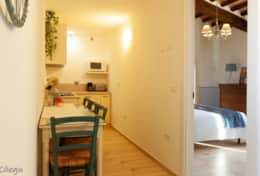 Apartment Ciliegio, first floor, one bedroom and extra room for children only