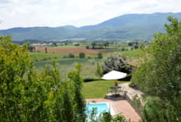 La Casella is set in a quiet and green landscape