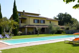 Villa Attigliano with airconditioning