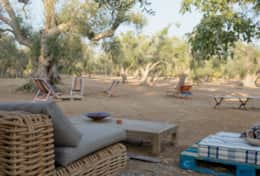 Apoikia - furnished outdoor area - Specchia - Salento