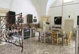 Essiccatoio - kitchen with eating area - Gagliano del Capo - Salento