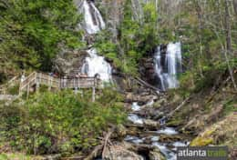 Enjoy Hiking at Anna Ruby Falls