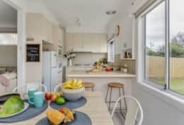 A Wave From It All -  Open Light-filled Kitchen - Good House Holiday Rentals