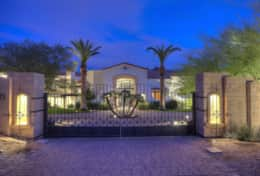 Stunning gated entry