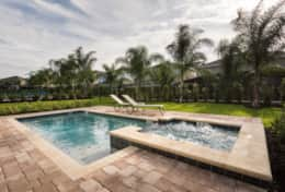 Exclusive Private Villas, 6 Bedroom Encore Resort Vacation Rental (ENC110) - Pool4