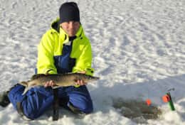 K61 Harper Cottage - Some of the best ice fishing lakes can also be reached by snowmobiles