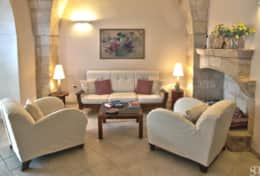 Carrubo - living room - Gagliano del Capo - Salento