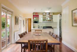 Large Dining Table Perfect for Group Accommodation