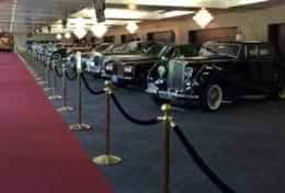 Red Carpet Near Rolls Royce's