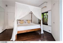Villa Sabtu - Ground Floor - Bedroom Canopy