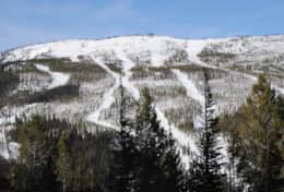 Ski slopes of Lost Trail-only 1 hour from cabins