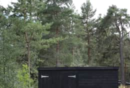 Storage shed for your sporting kit