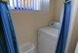 Washer/Dryer Inside Unit