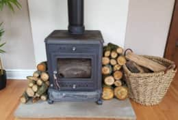 Rowan Lodge Log Burner