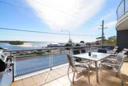 Balcony and Water View - Huskisson Accommodation
