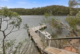 Your private jetty awaits - The River House Gipsy Point - Good House Holiday Rentals