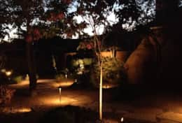 Landscape night lighting