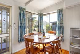 All Decked Out Smiths Beach - Eating Corner - Good House Holiday Rentals
