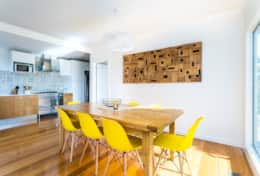 L'Ciabot Rye Dining Room - Good House Holiday Rentals Mornington Peninsula