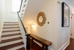 Entryway/Front Stairway