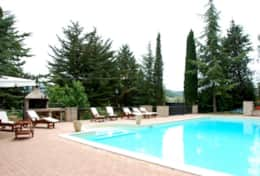 Large pool at Spoleto Villa