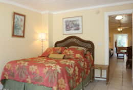 11103: The master bedroom features a queen-sized bed