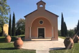 The view of the Chapel