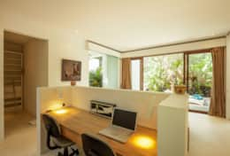 if you need to work while you are at Villa Maz in Bali, feel free to use the desktop and enjoy