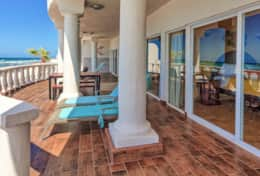Another gorgeous view of your private upper terrace