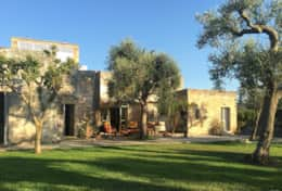 Le More - view of the masseria - Spongano - Salento