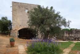 Cava - back of the old tower - Barbarano - Salento