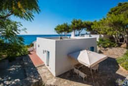 Villa sul mare - view of the house - Castro - Salento